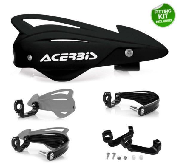 Acerbis-Handprotektoren-TRI-FIT-schwarz-Enduro-Motocross-Handguards